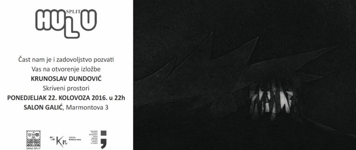 Otvorenje izložbe- Krunoslav Dundović u Salonu Galić – ponedjeljak 22. kolovoza u 22:00h
