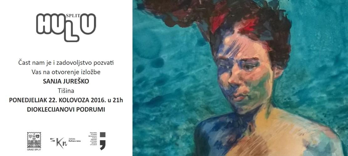 Otvorenje izložbe- Sanja Jureško u Dioklecijanovim podrumima- ponedjeljak 22. kolovoza u 21:00h