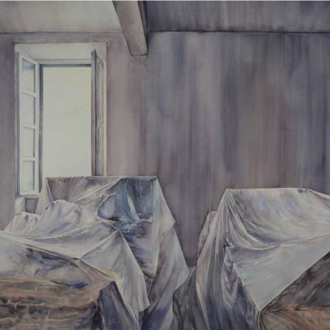 Katarina-Ivanišin-Kardum-Still-Landscape-Series-V-2016-Bez-naziva-akvarel-na-papiru-watercolour-on-paper-116x153cm