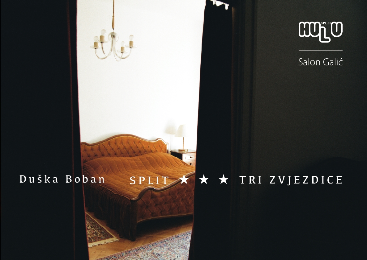 "OPENING OF THE EXHIBITION:   BOBAN DUŠKA  "" Split *** Three stars "" in  Salon Galić"