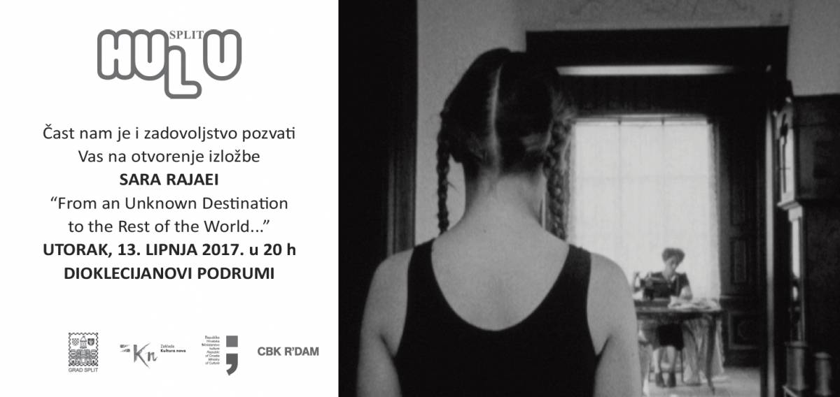 "OPENING OF THE EXHIBITION """"From an unknown destination to the rest of the world… "" –  TUESDAY JUNE 13TH AT 8PM  BASEMENT HALLS OF DIOCLETIAN PALACE- SPLIT"