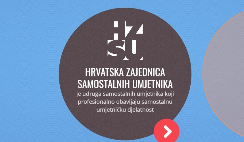 OBAVIJEST ČLANOVIMA-  prijava u članstvo Hrvatske zajednice samostalnih umjetnika (HZSU)- rok 15.ožujka 2018