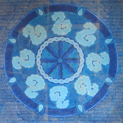 Mandala – naslikana molitva