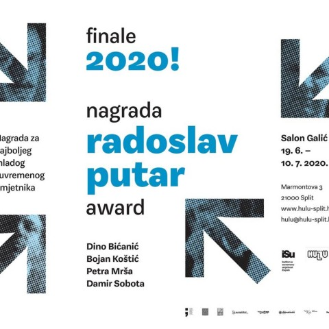 Izložba finalista – nagrada Radoslav Putar 2020