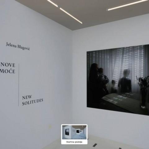 JELENA BLAGOVIĆ Nove samoće / New Solitudes – Virtualna izložba