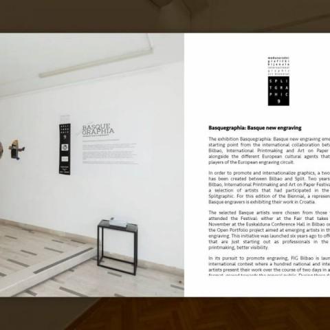 9. SPLITGRAPHIC BIJENALE 2019-2020  BASQUEGRAPHIA: BASKIJSKA NOVA GRAFIKA – Virtualna izložba