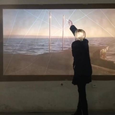 Interakcija, video art, 4:14 min, 2017